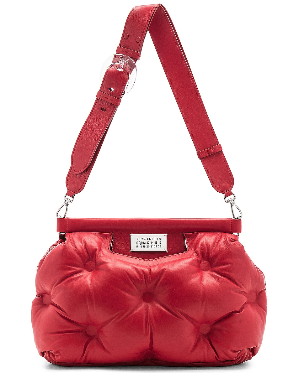 Image 6 of Maison Margiela Glam Slam Shoulder Bag in Haute Red