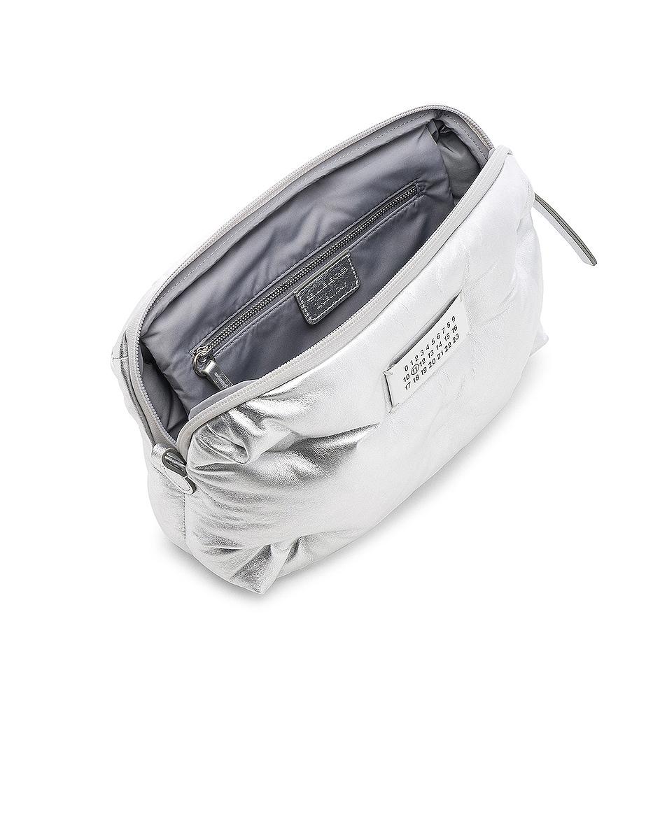 Image 5 of Maison Margiela Glam Slam Number Crossbody Bag in Silver