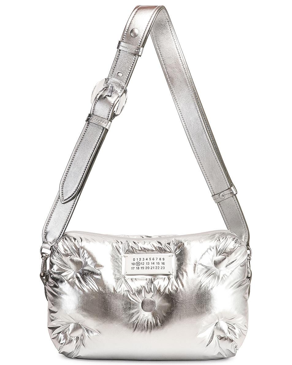 Image 5 of Maison Margiela Glam Slam Crossbody Bag in Silver