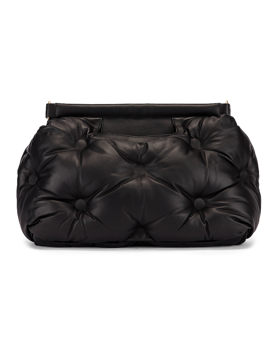 Image 3 of Maison Margiela Glam Slam Tufted Shoulder Bag in Black