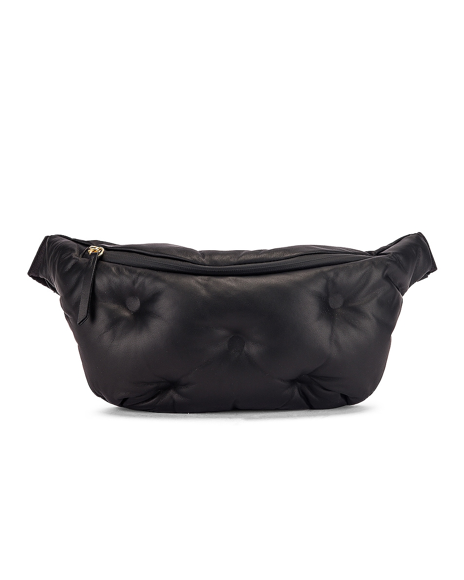 Image 1 of Maison Margiela Glam Slam Belt Bag in Black