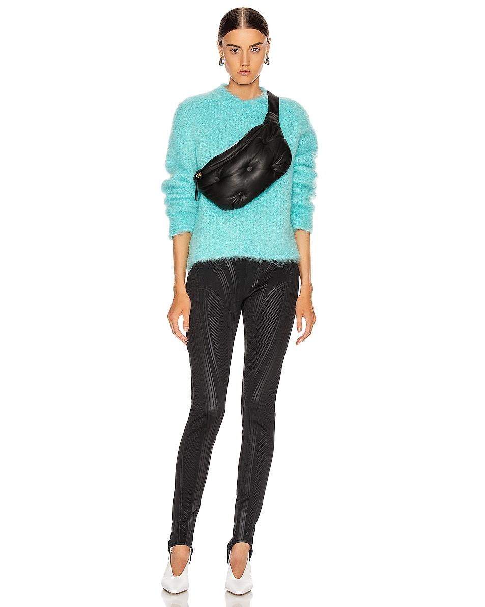 Image 2 of Maison Margiela Glam Slam Belt Bag in Black