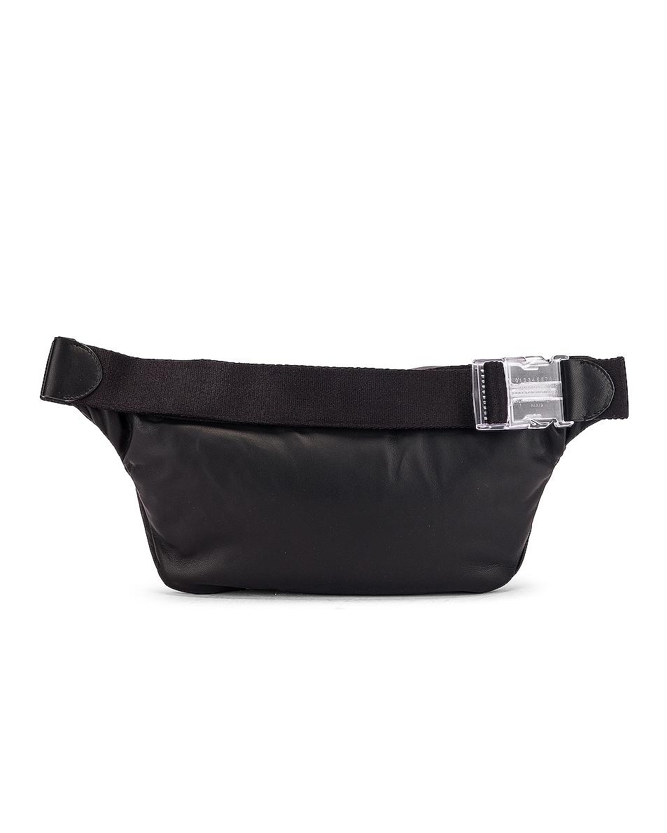 Image 3 of Maison Margiela Glam Slam Belt Bag in Black