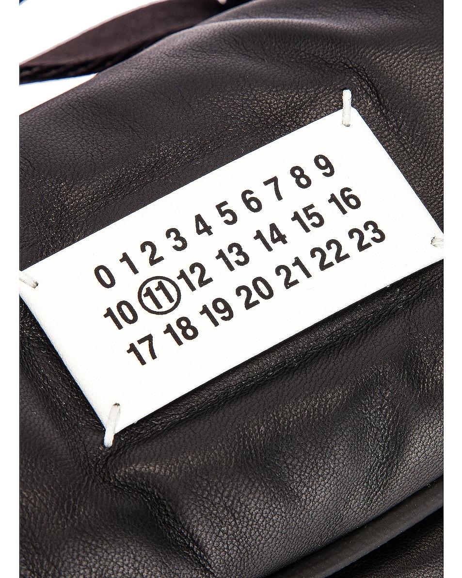 Image 7 of Maison Margiela Glam Slam Belt Bag in Black