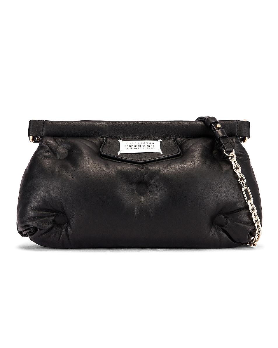 Image 1 of Maison Margiela Glam Slam Chain Crossbody Bag in Black
