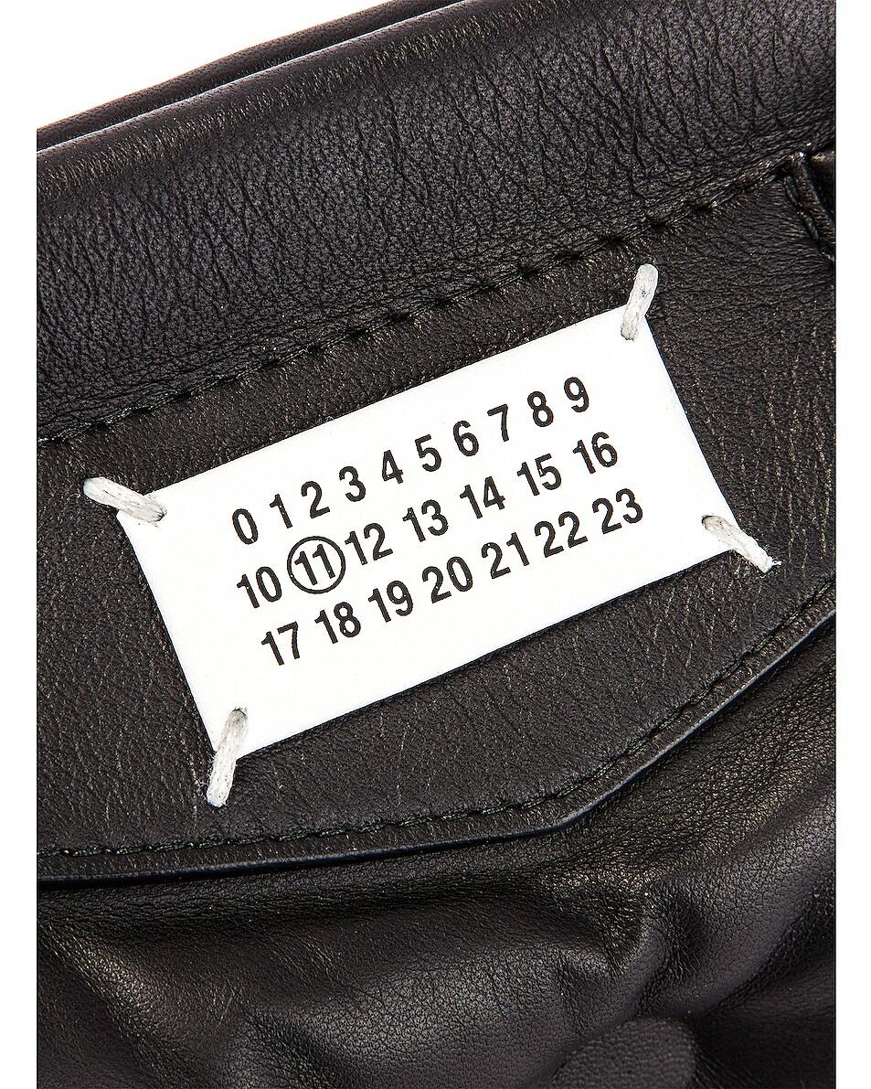 Image 7 of Maison Margiela Glam Slam Chain Crossbody Bag in Black