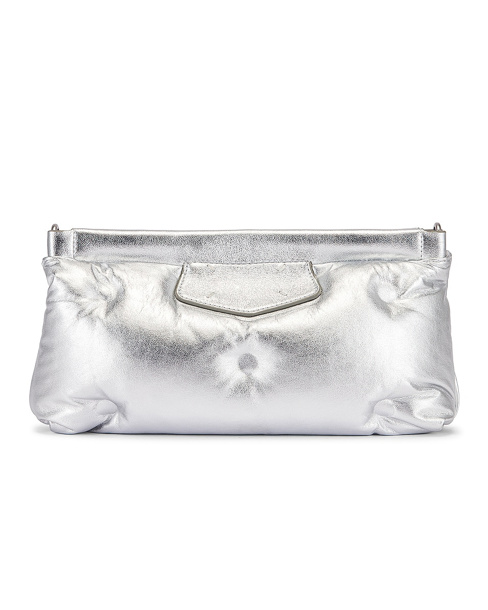 Image 3 of Maison Margiela Glam Slam Chain Crossbody Bag in Silver