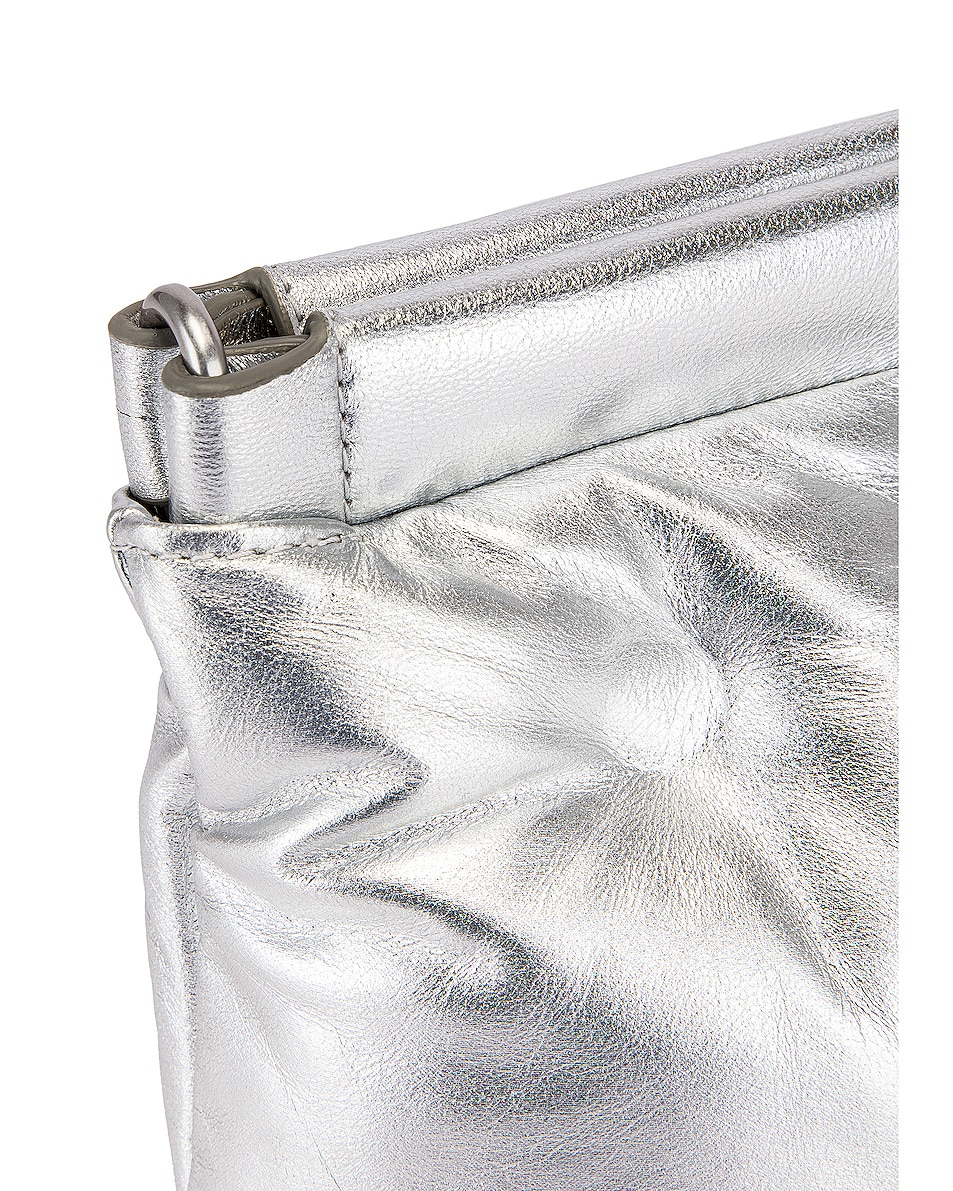 Image 8 of Maison Margiela Glam Slam Chain Crossbody Bag in Silver