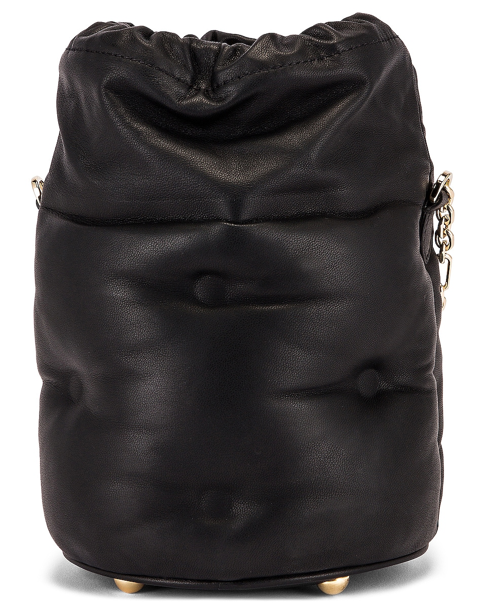 Image 3 of Maison Margiela Glam Slam Bucket Bag in Black