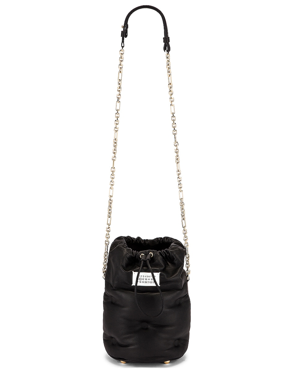 Image 6 of Maison Margiela Glam Slam Bucket Bag in Black