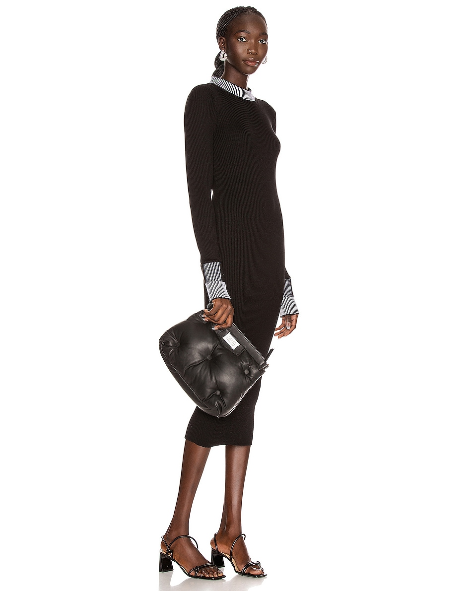Image 2 of Maison Margiela Glam Slam Shoulder Bag in Black