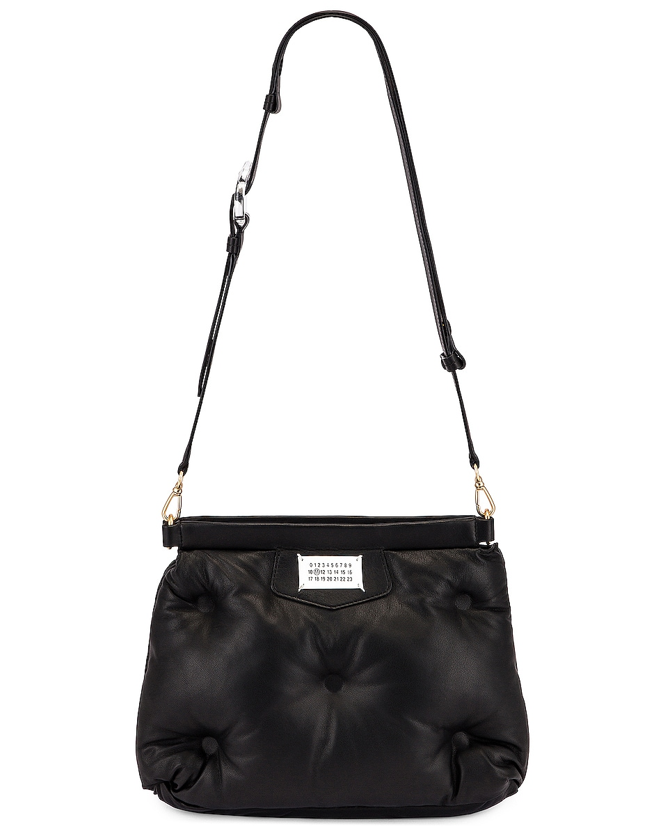 Image 6 of Maison Margiela Glam Slam Shoulder Bag in Black
