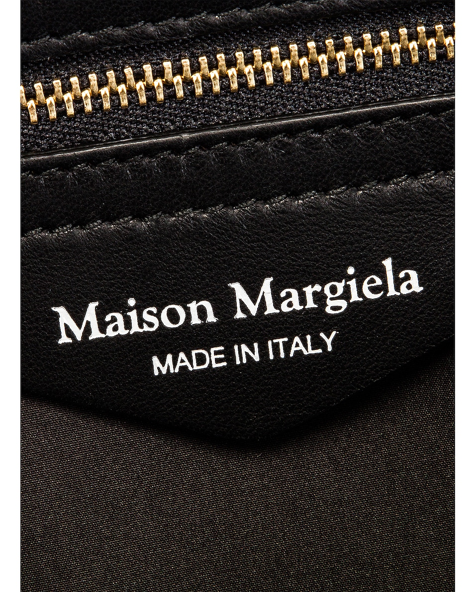 Image 7 of Maison Margiela Glam Slam Shoulder Bag in Black
