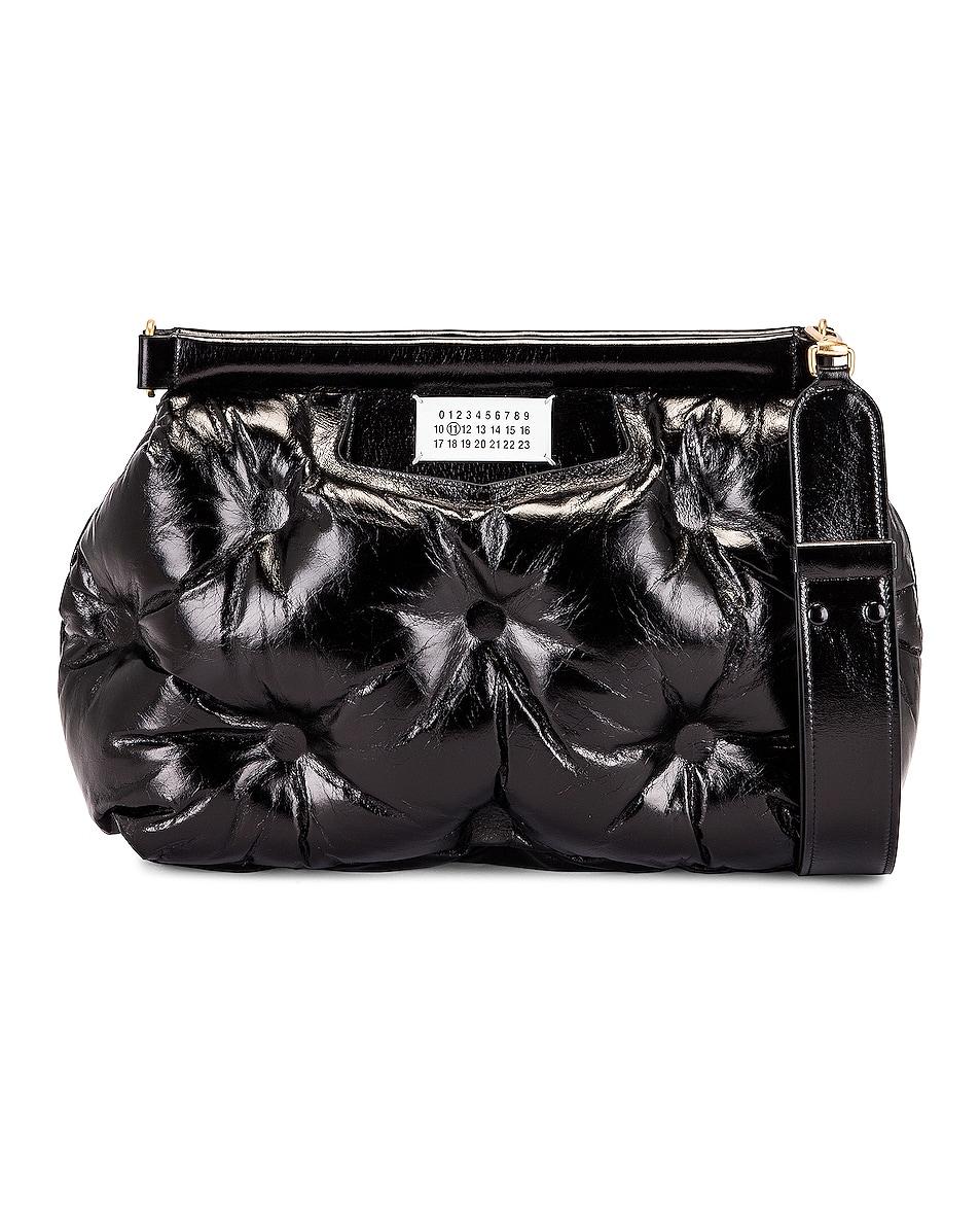 Image 1 of Maison Margiela Glam Slam Shoulder Bag in Black
