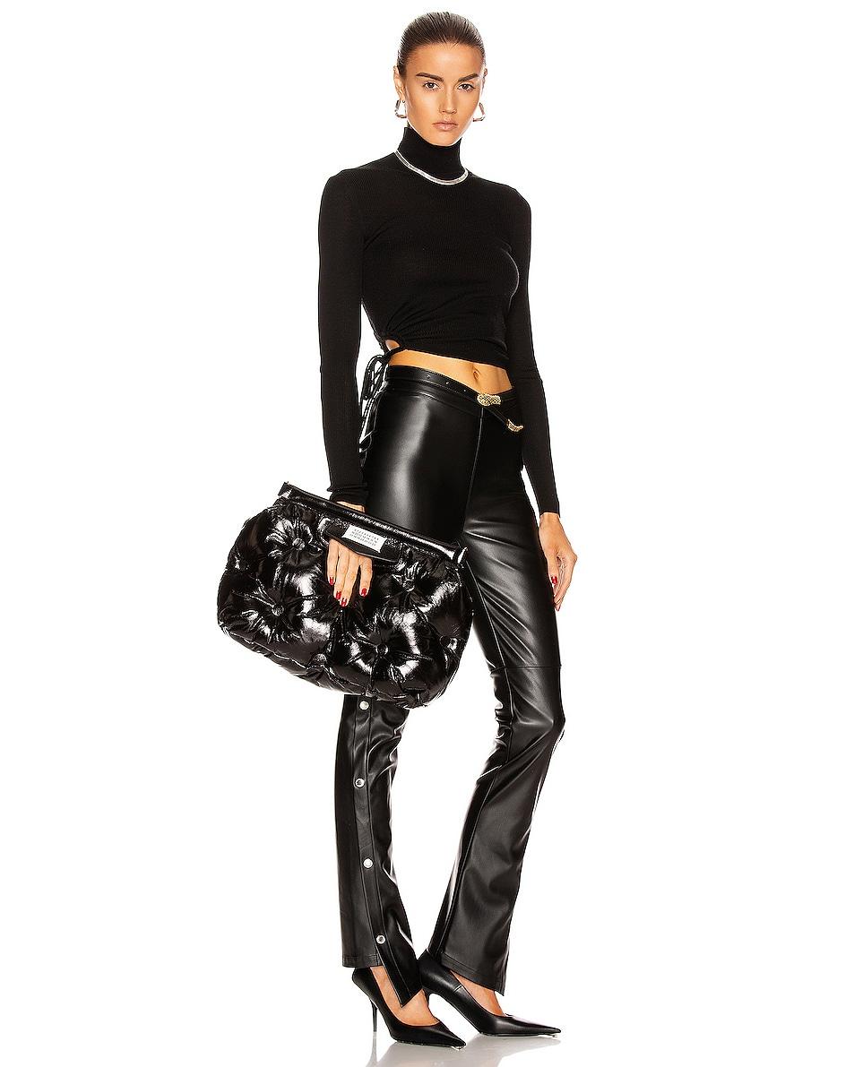 Image 2 of Maison Margiela Glam Slam Shoulder Bag in Black