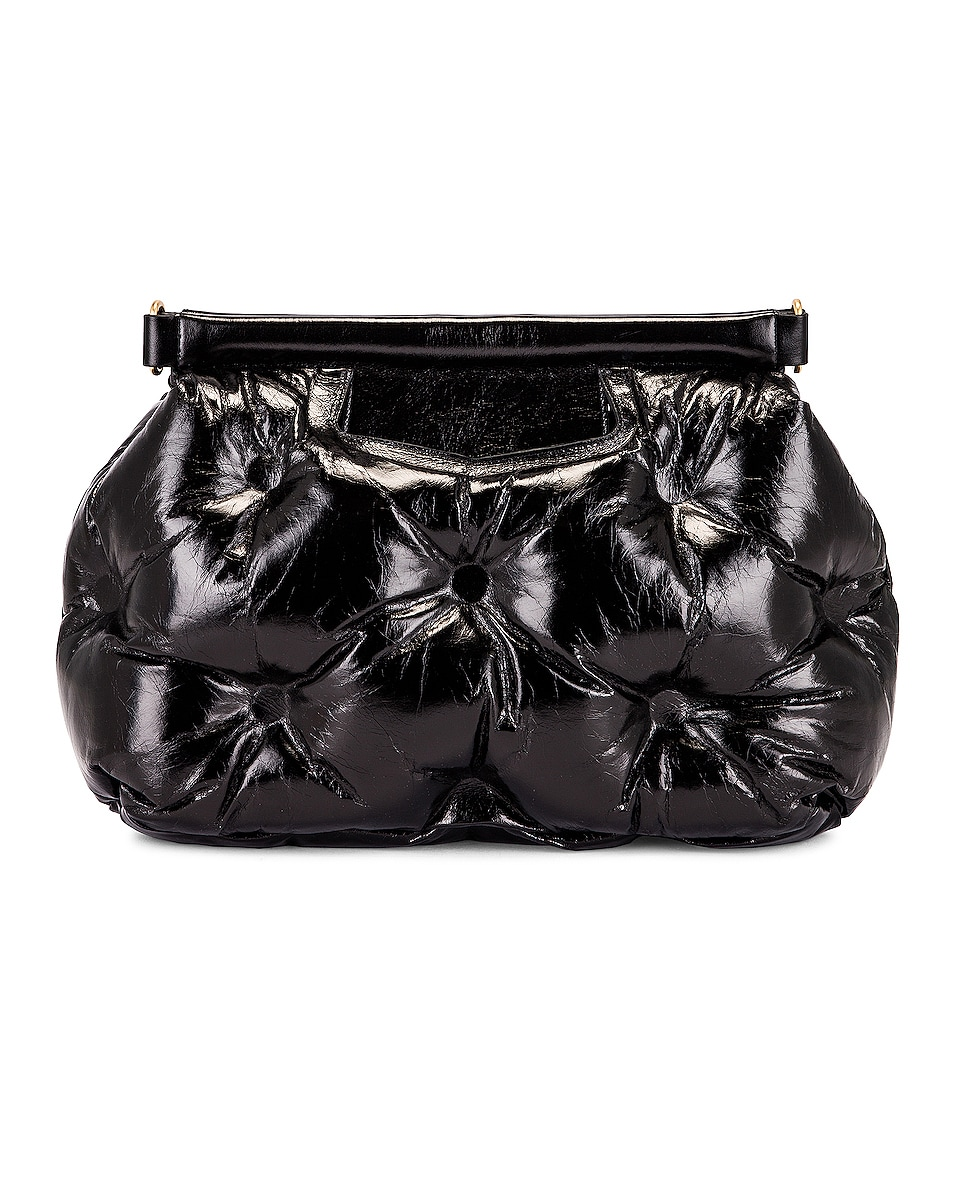 Image 3 of Maison Margiela Glam Slam Shoulder Bag in Black