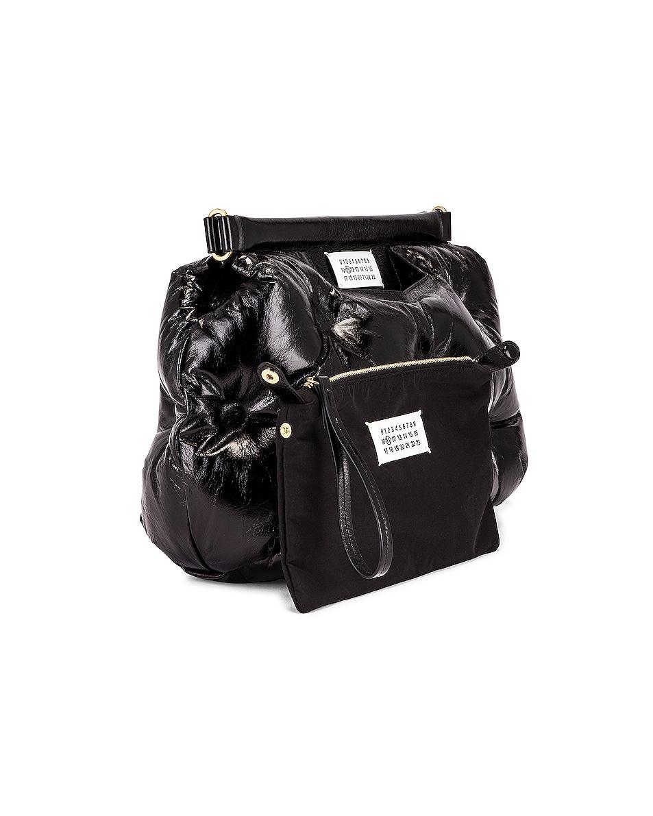 Image 4 of Maison Margiela Glam Slam Shoulder Bag in Black