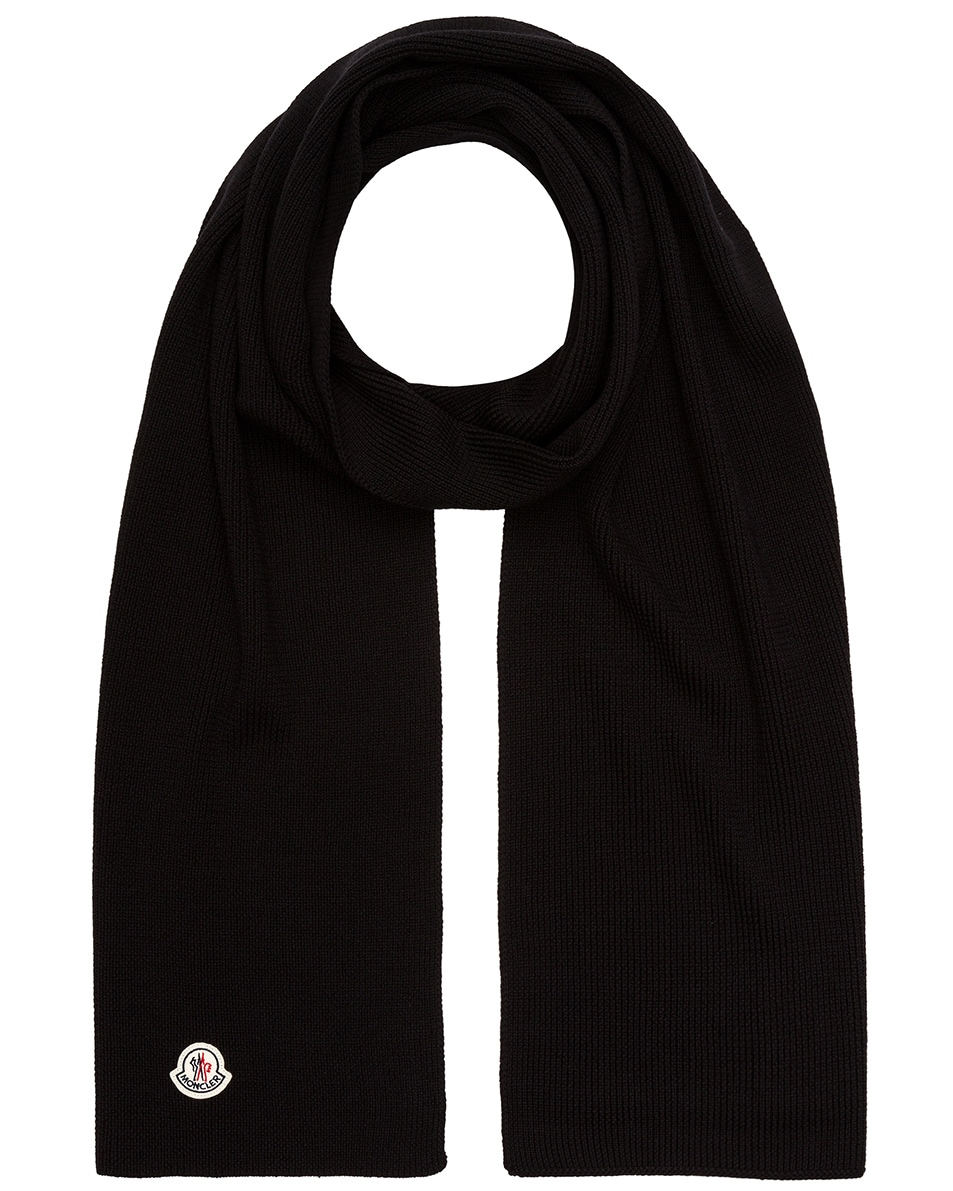 Image 1 of Moncler Scarf in Black