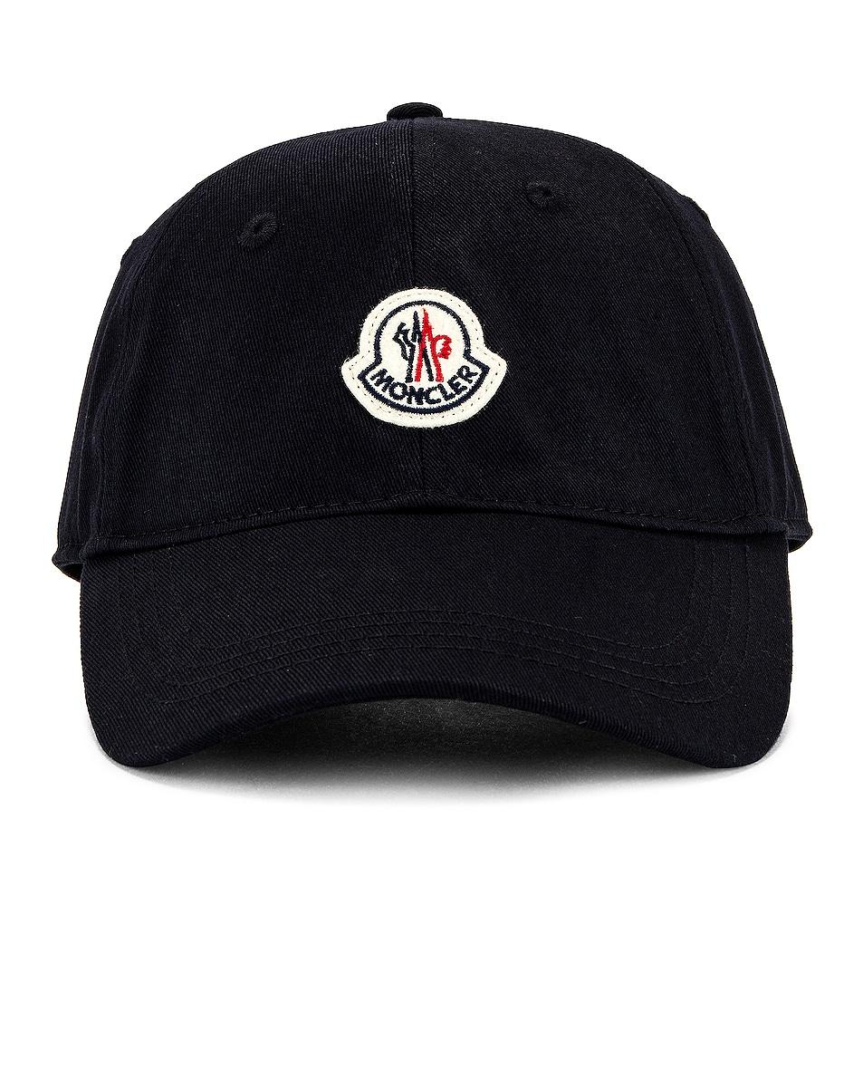 Image 1 of Moncler Cap in Black