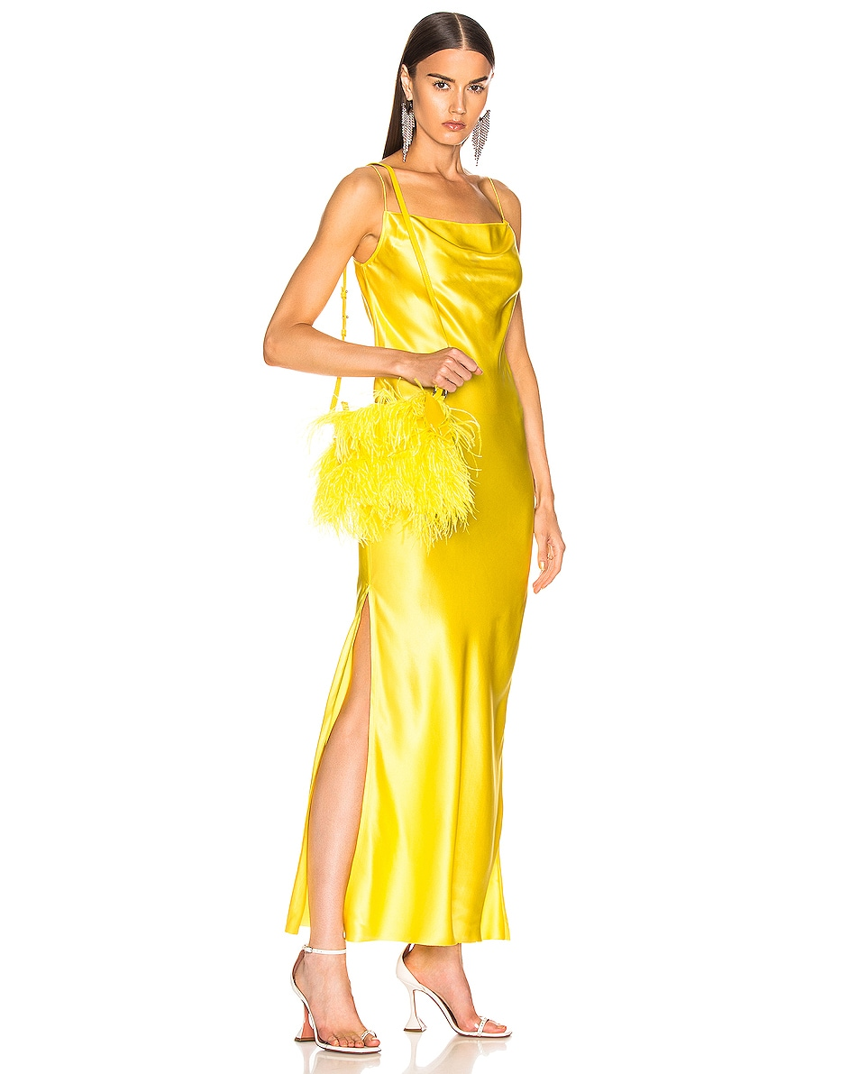 Image 2 of Marques ' Almeida Feather Bag in Yellow
