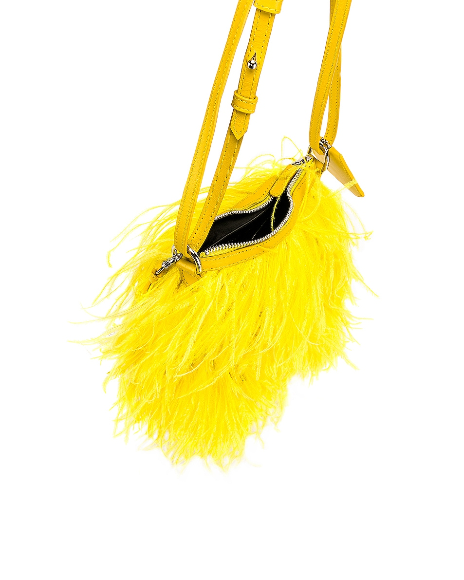 Image 5 of Marques ' Almeida Feather Bag in Yellow