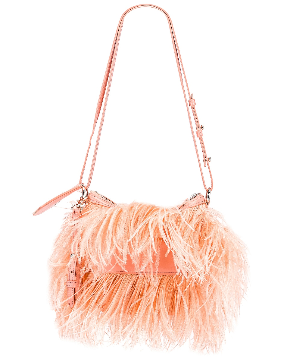 Image 3 of Marques ' Almeida Feather Bag in Pink