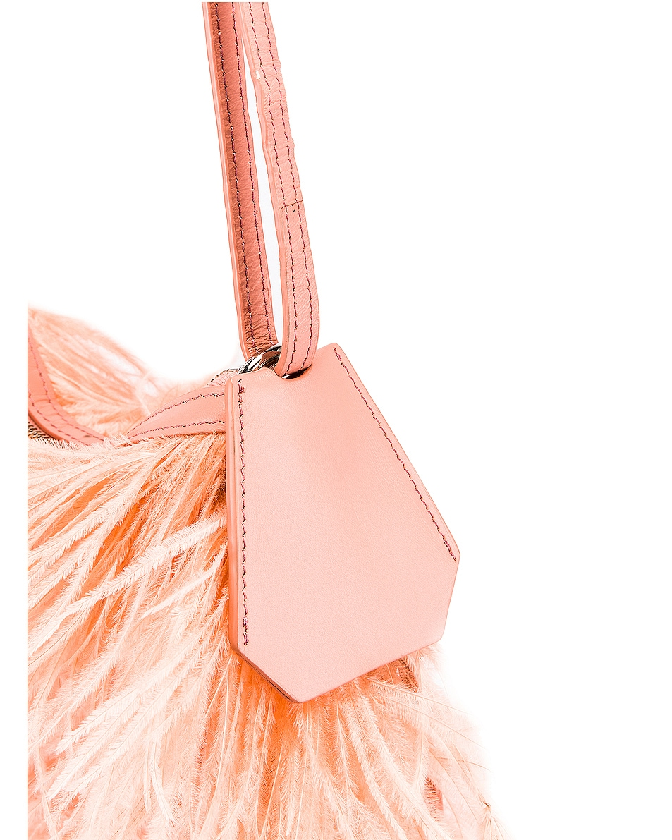 Image 7 of Marques ' Almeida Feather Bag in Pink