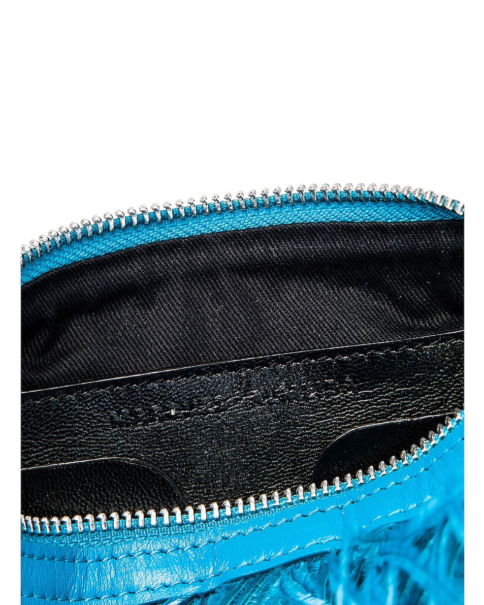 Image 6 of Marques ' Almeida Feather Bag in Turquoise