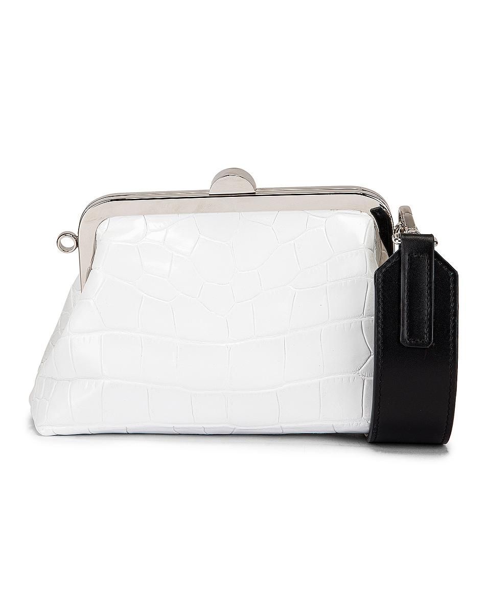 Image 1 of Marques ' Almeida Mini Clasp Bag in White