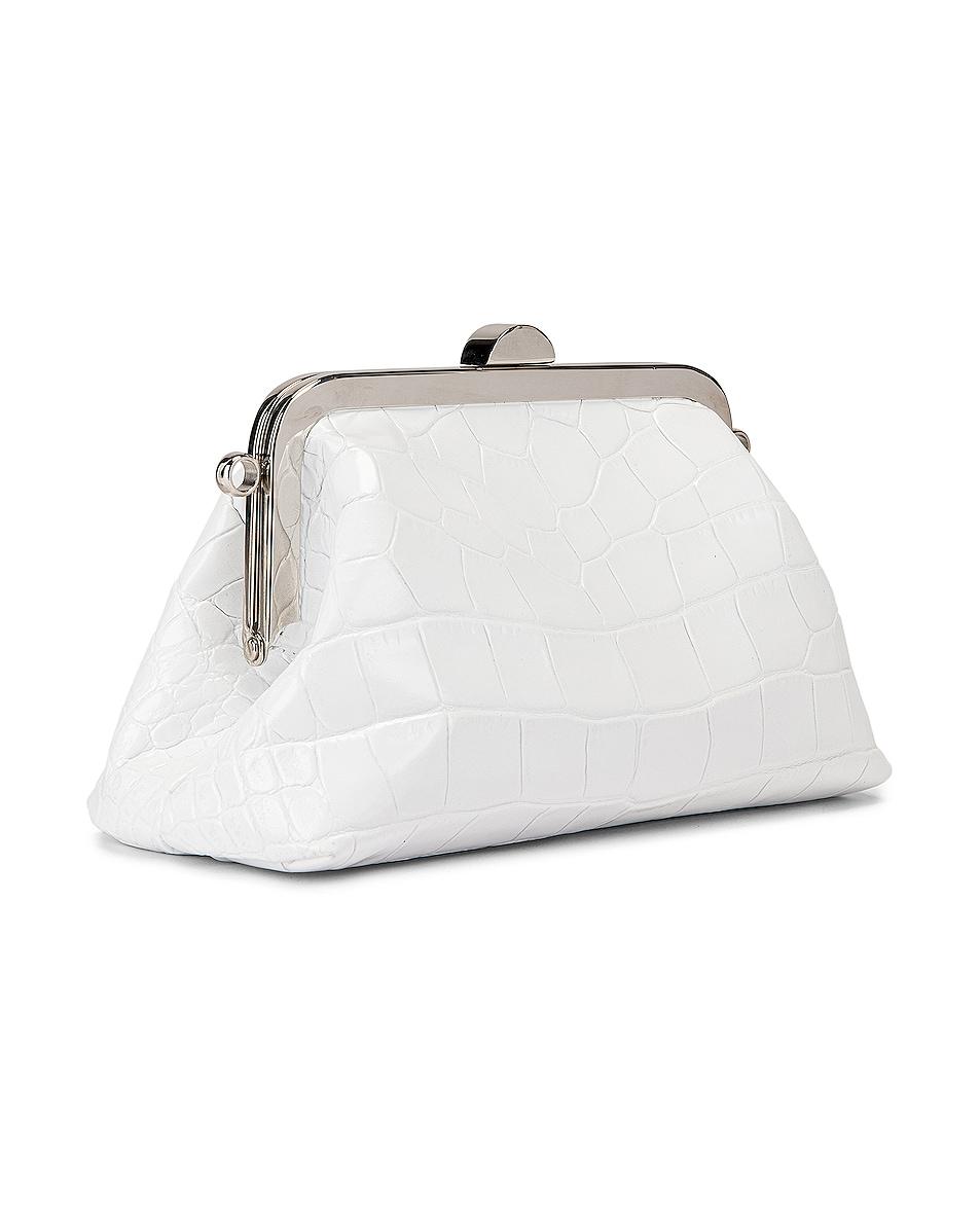 Image 3 of Marques ' Almeida Mini Clasp Bag in White