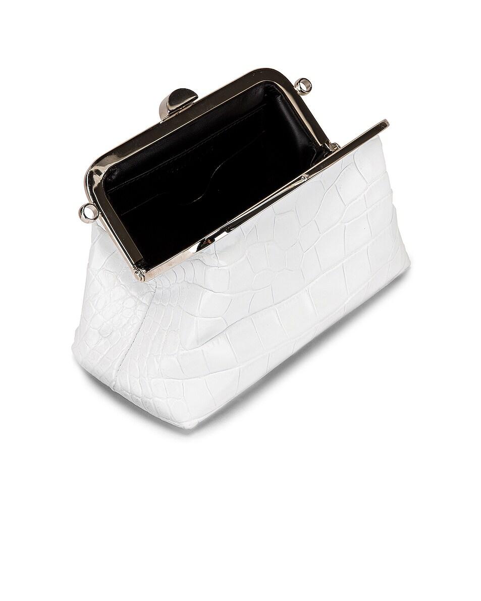 Image 4 of Marques ' Almeida Mini Clasp Bag in White