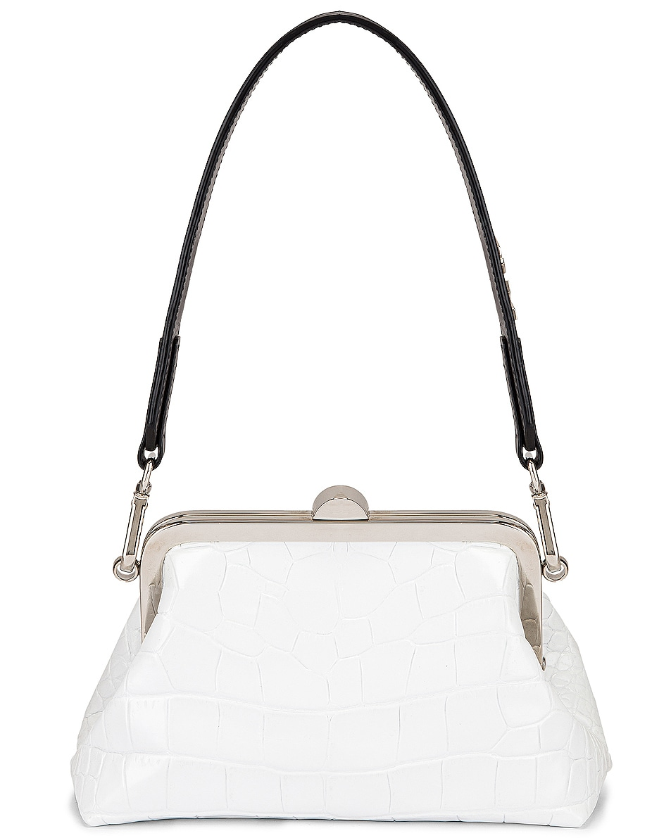 Image 5 of Marques ' Almeida Mini Clasp Bag in White