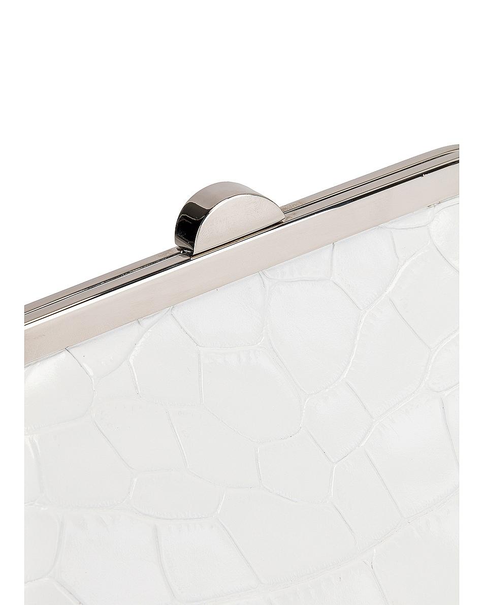 Image 7 of Marques ' Almeida Mini Clasp Bag in White