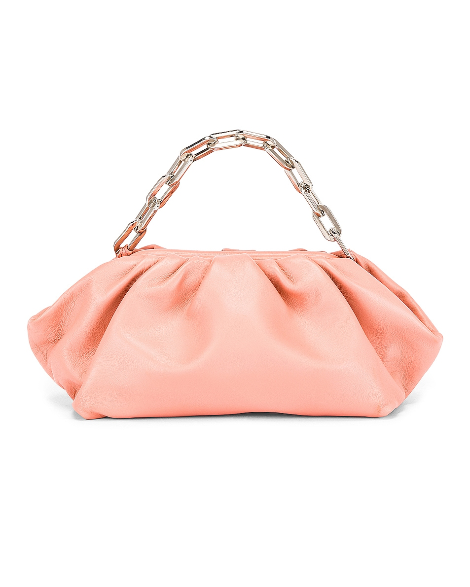 Image 3 of Marques ' Almeida Pleated Clutch Bag in Pink