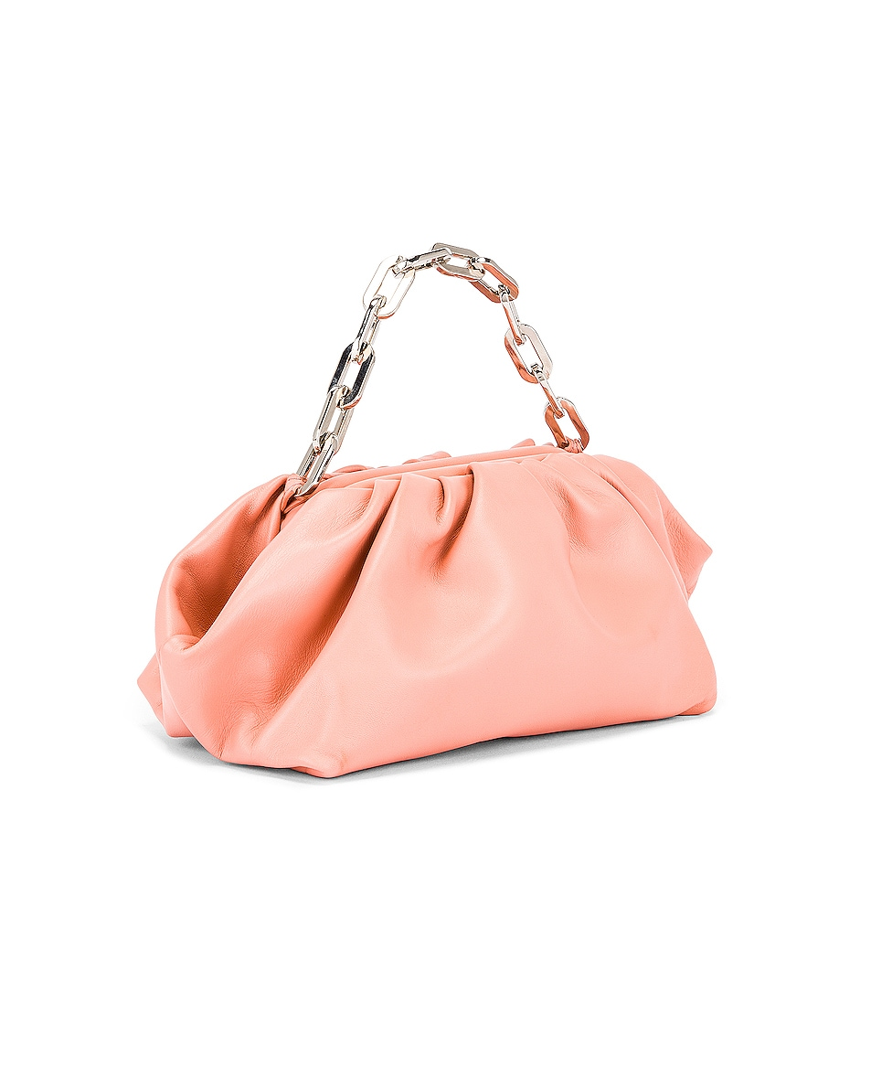 Image 4 of Marques ' Almeida Pleated Clutch Bag in Pink