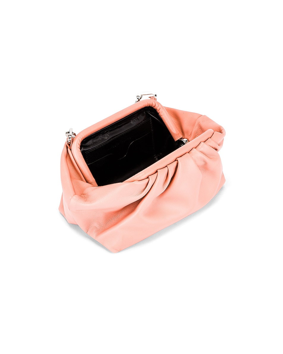 Image 5 of Marques ' Almeida Pleated Clutch Bag in Pink