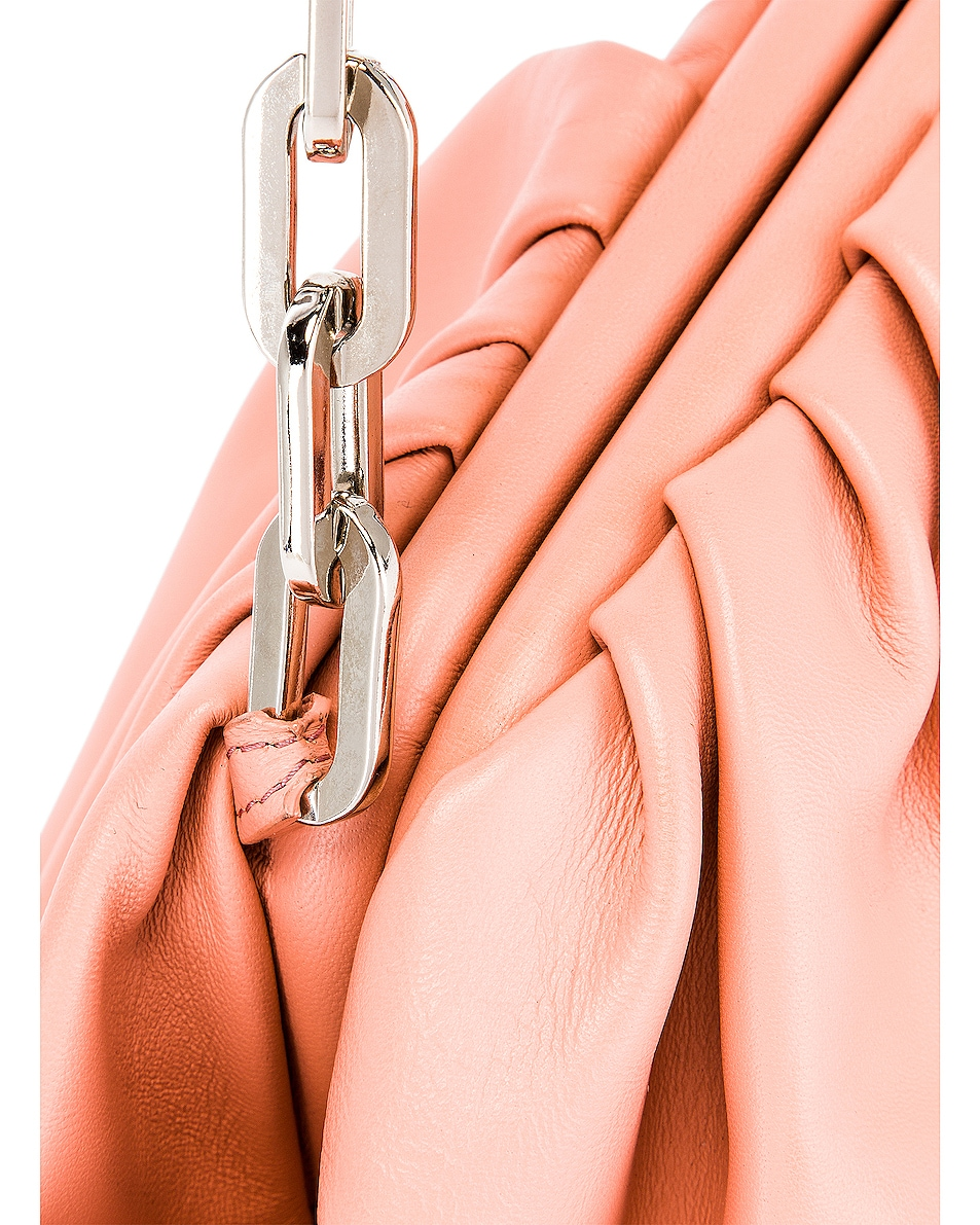 Image 7 of Marques ' Almeida Pleated Clutch Bag in Pink