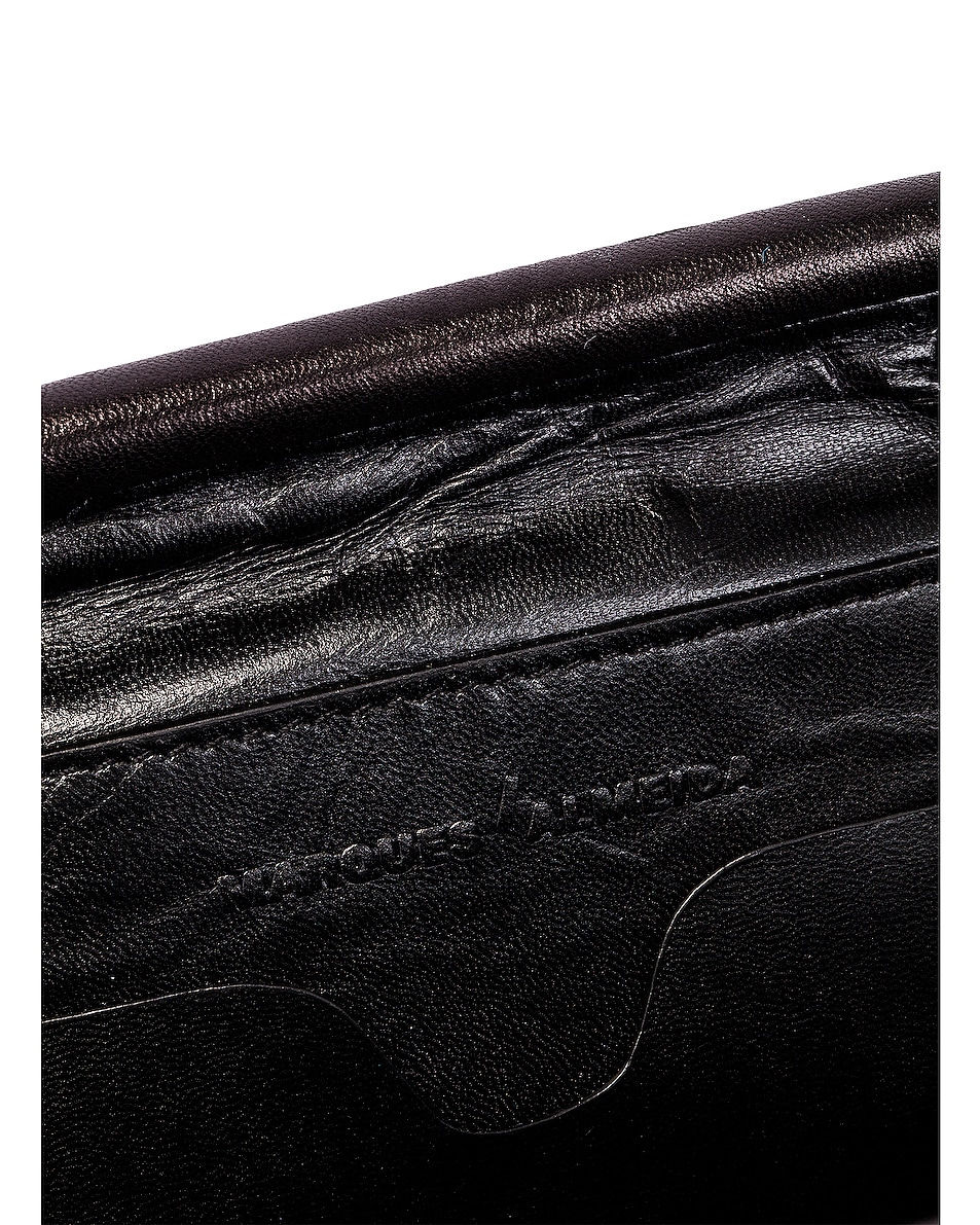 Image 6 of Marques ' Almeida Pleated Clutch Bag in Black