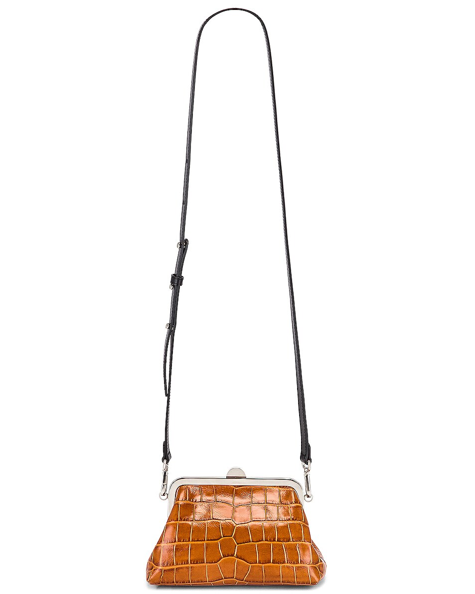 Image 6 of Marques ' Almeida Mini Clasp Bag in Brown