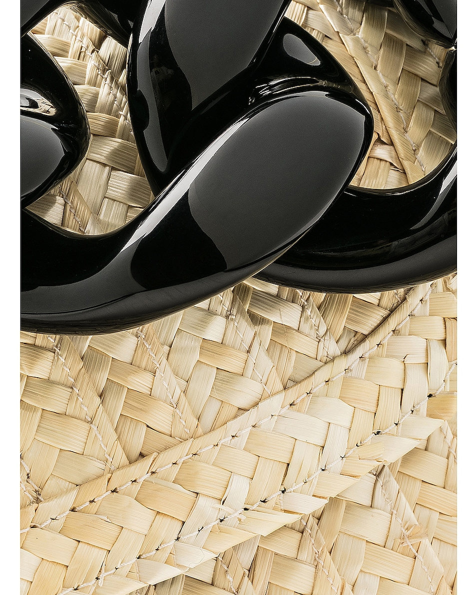 Image 8 of Marques ' Almeida Chain Bag in Straw