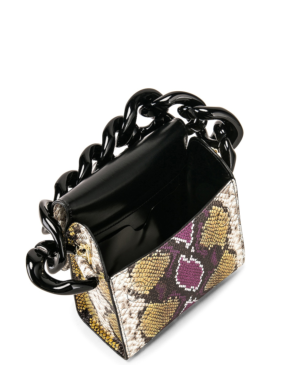 Image 5 of Marques ' Almeida Chain Bag in Purple & Brown