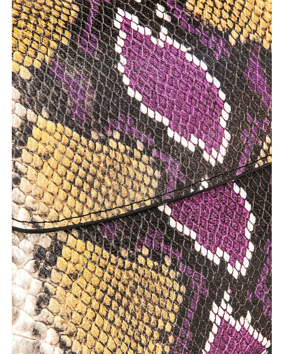 Image 8 of Marques ' Almeida Chain Bag in Purple & Brown
