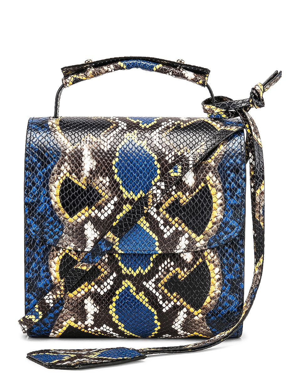 Image 1 of Marques ' Almeida MA Bag in Blue & Yellow