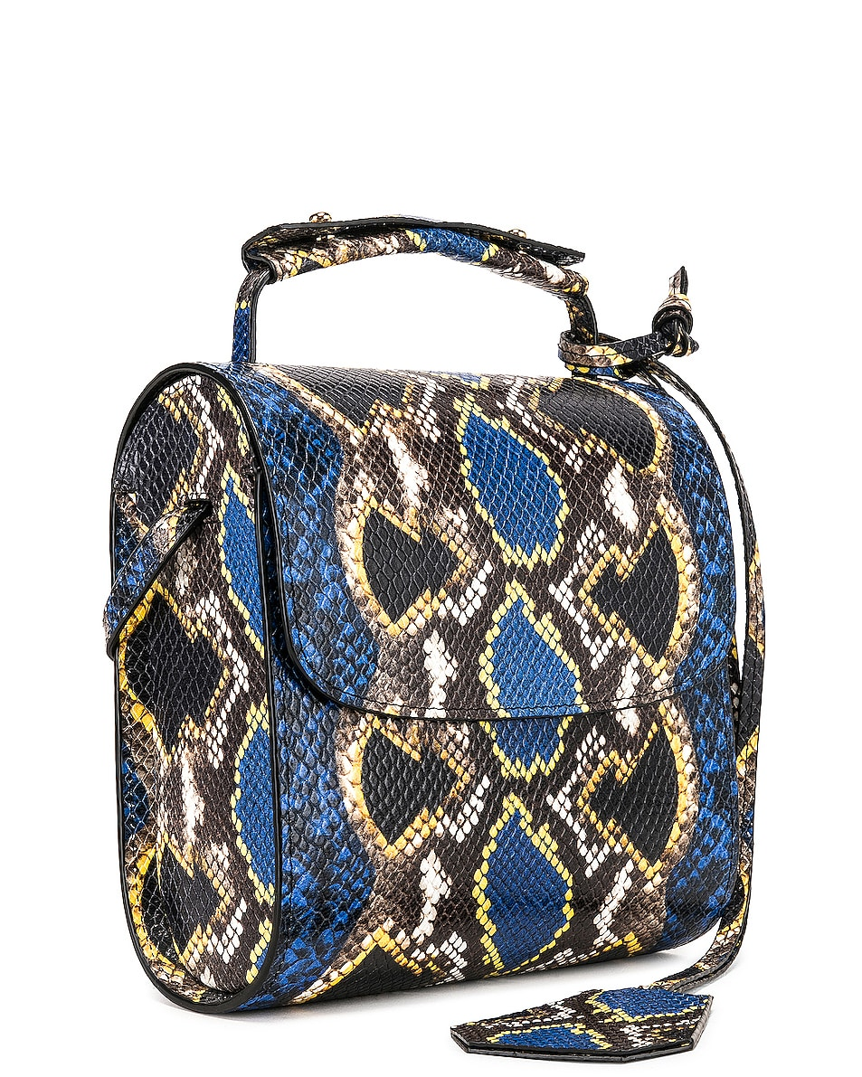 Image 4 of Marques ' Almeida MA Bag in Blue & Yellow