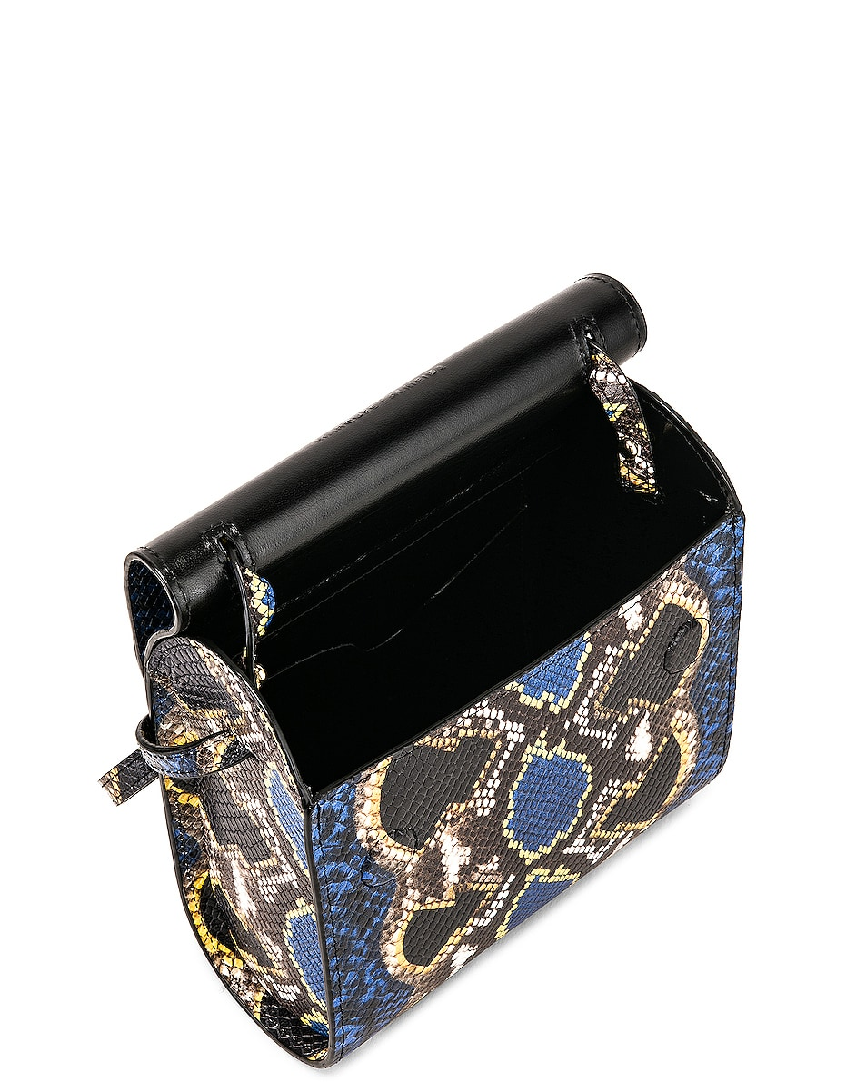 Image 5 of Marques ' Almeida MA Bag in Blue & Yellow