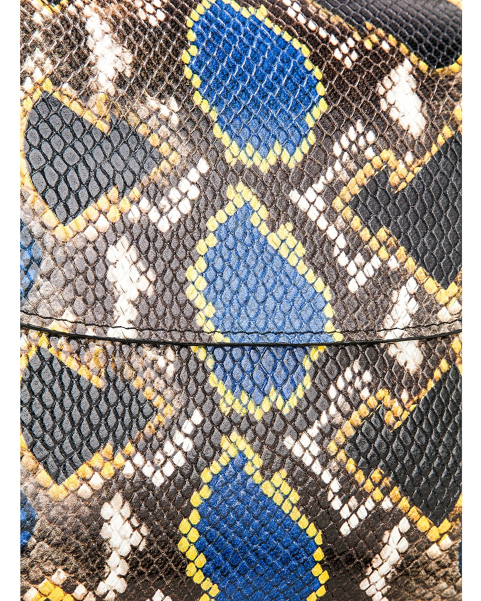 Image 8 of Marques ' Almeida MA Bag in Blue & Yellow
