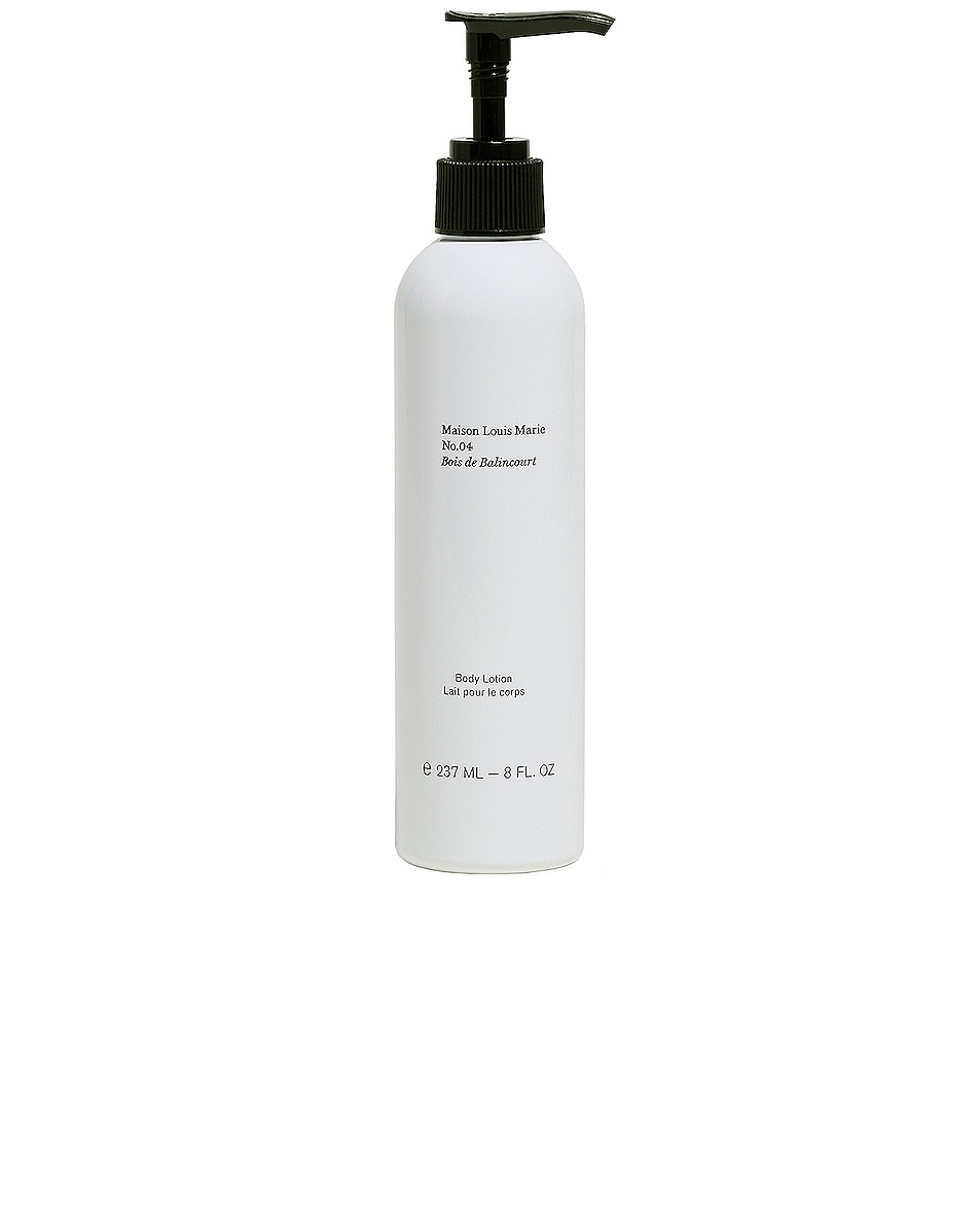 Image 1 of Maison Louis Marie No.04 Bois de Balincourt Body and Hand Lotion in