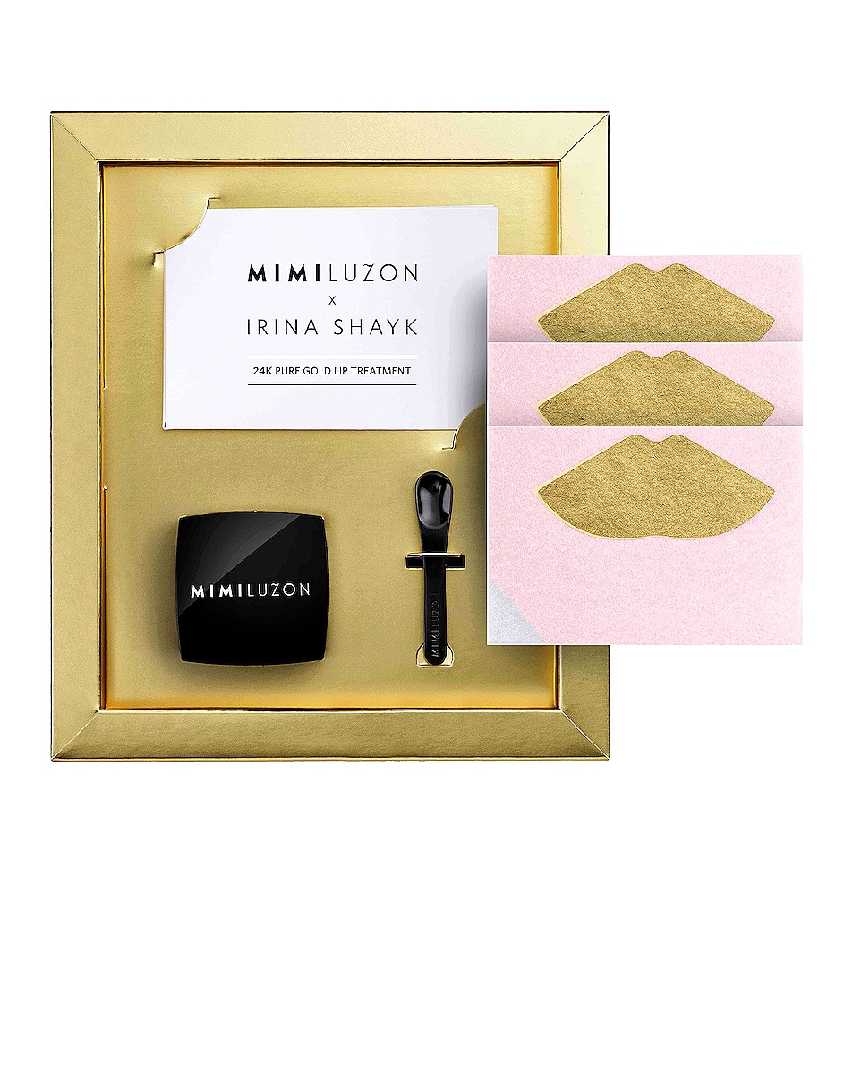 Image 1 of Mimi Luzon x Irina Shayk 24K Pure Gold Lip Treatment in