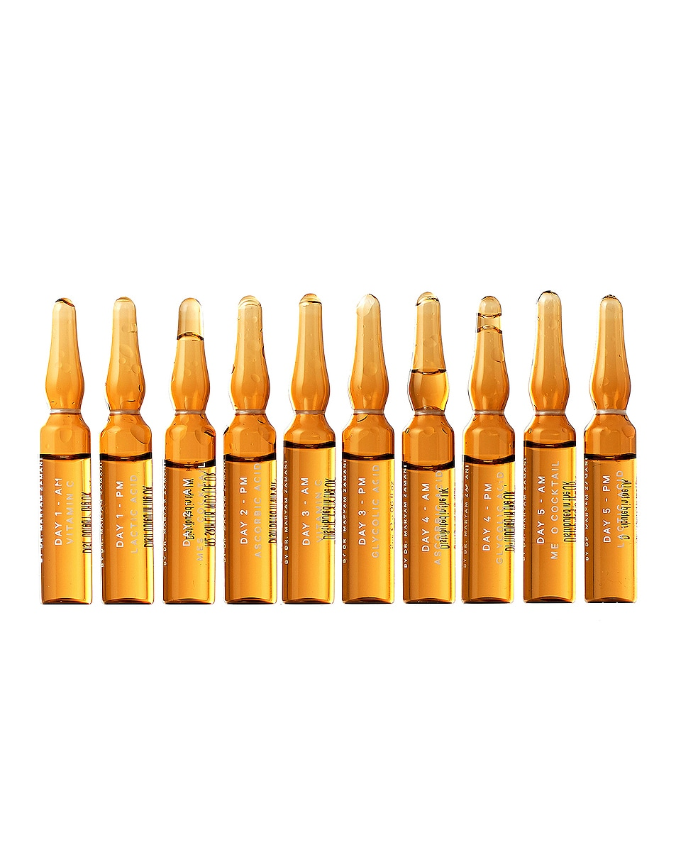 Image 1 of MZ Skin Glow Boost Ampoules in