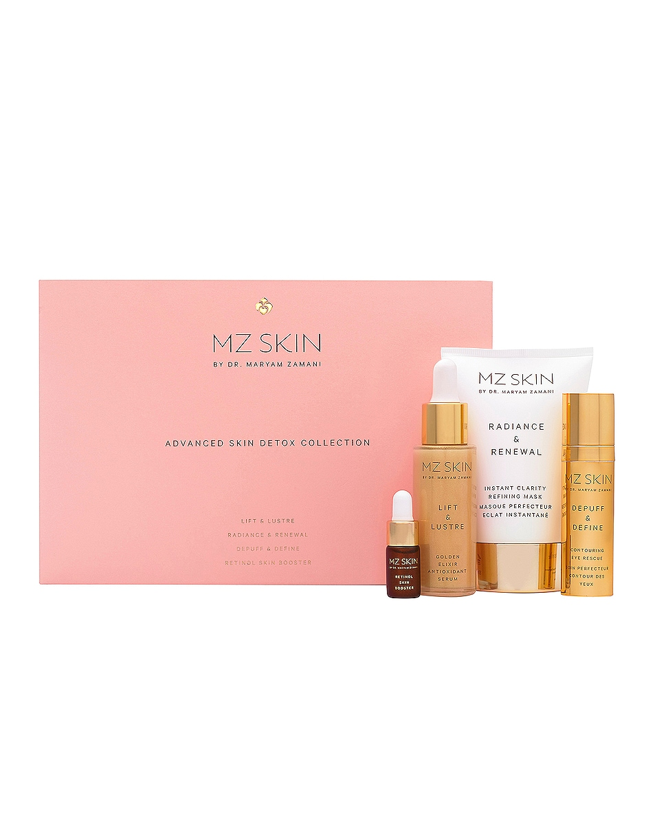 Image 1 of MZ Skin Advanced Skin Detox Collection Gift Set in